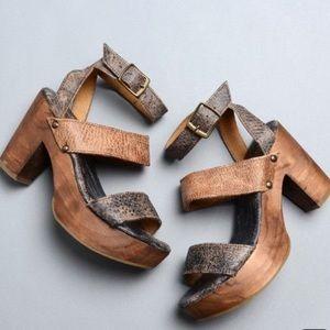 Bed Stu Sophie platform sandals size 7.5